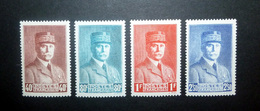 FRANCE 1941 N°470 À 473 ** (MARÉCHAL PÉTAIN) - 1941-42 Pétain