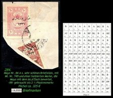 EARLY OTTOMAN SPECIALIZED FOR SPECIALIST, SEE...Mi. Nr. 749 - Mayo 84 As- Halbierung -RR- - 1920-21 Anatolie