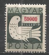 Hungary 1946. Scott #772 (M) Dove And Letter * - Hongrie