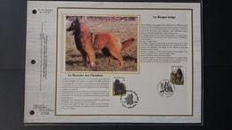 """BUZIN - Autre: Timbres Numéro 2213/16 """"chien"""" état Feuillet D'art - Belgique"""