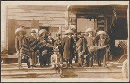 White Star Tours, Tijuana, Mexico, 1915 - AZO RPPC - Mexico