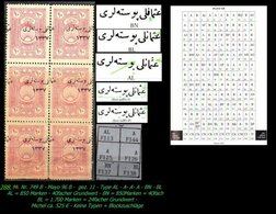 EARLY OTTOMAN SPECIALIZED FOR SPECIALIST, SEE...Mi. Nr. 749 - Mayo 96 B- 4 Plattenfehler -RR- - 1920-21 Anatolie
