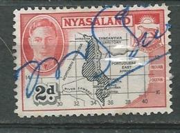 Nyassaland   - Yvert N°  80 Oblitere   Bce16354 - Nyasaland (1907-1953)
