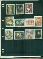 FRANCE ART-TABLEAUX 69 -70-71 11 VAL NEUFS A PARTIR DE 0.75 EUROS - France