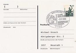 GERMANIA - BACKNANG  -  SCOIATTOLO  -  SQUIRREL - Roditori