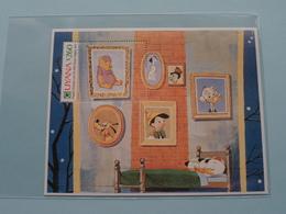 GUYANA ( $ 260 ) Original Christmas Card The Walt Disney Company 1969 > Issue WP3 Number 0385 ( Zie Foto's ) ! - Guyane (1966-...)