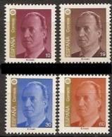 ESPAÑA 1995 - SERIE BASICA DEL REY D. JUAN CARLOS I - Edifil Nº 3378-3381 - Yvert 2927-28 + 2968-69 - 1931-Hoy: 2ª República - ... Juan Carlos I