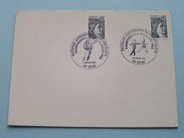 PATINAGE ARTISTIQUE & DANSE SUR GLACE Championnats D'Europe 1982 ( Stamp : 30 Janvier  > 69 LYON ) ( Voir Photo ) ! - Collectors