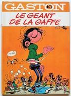 BD GASTON - 10 - Le Géant De La Gaffe - Rééd. 1974 - Gaston
