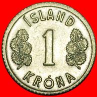 # GREAT BRITAIN 4 SPIRITS (1976-1980): ICELAND ★ 1 CROWN 1978 UNC MINT LUSTER! LOW START ★ NO RESERVE! - Islandia