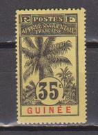 GUINEE    N°  YVERT  :    41   NEUF AVEC  CHARNIERES      ( Ch  2/09  ) - Unused Stamps