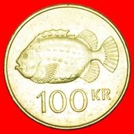 # GREAT BRITAIN FISH (1995-2011): ICELAND ★ 100 KRONAS 1995! LOW START ★ NO RESERVE! - IJsland