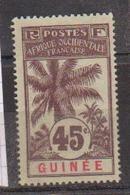 GUINEE    N°  YVERT  :    42   NEUF AVEC  CHARNIERES      ( Ch  2/09  ) - Unused Stamps