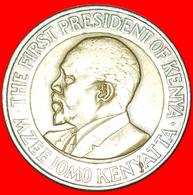 # COCK AND LIONS (2005-2009): KENYA ★ 20 SHILLINGS 2005! LOW START ★ NO RESERVE! Mzee Jomo Kenyatta (1964-1978) - Kenya
