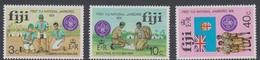 Fiji SG 499-501 1974 First National Scout Jamboree, Mint Never Hinged - Fiji (1970-...)