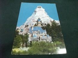 STORIA POSTALE FRANCOBOLLO U.S.A. DISNEYLAND PALACE AND PEAK - Disneyland
