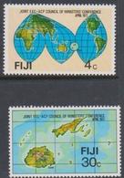Fiji SG 539-540 1977 E.E.C. A.C.P. Conference, Mint Never Hinged - Fiji (1970-...)
