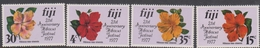 Fiji SG 541-544 1977 21st Anniversary Hibiscus Festival, Mint Never Hinged - Fiji (1970-...)