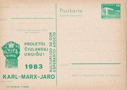 Esperanto - Karl-Marx-Jaro 1983 - Esperanto