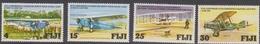Fiji SG 552-555 1978 Aviation Anniversaries, Mint Never Hinged - Fiji (1970-...)