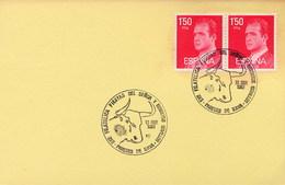 SPAGNA -  PAREDES DE NAVA -  FIESTAS DEL SENOR BENDITOS E NOVILLOS   -  TORO   CORRIDA - Stamps