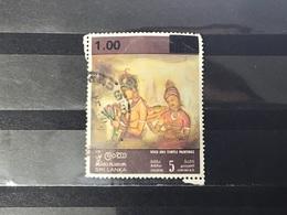 Sri Lanka - Rots- En Tempelschilderingen (1) 1973 - Sri Lanka (Ceylon) (1948-...)