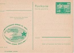Esperanto - Esperanto Serval Al Paco / Unua Homa Rajto - Esperanto