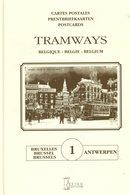Tramways Belgique-België - Bruxelles-Brussel-Antwerpen - 1997 - NMVB - SNCV - STIB - Cartes Postales - Bahnwesen & Tramways