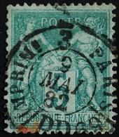 -Sage N°75 Type Ll. O PARIS-JOURNAUX.9 Mai 1882.( Bur 69 ) - 1876-1898 Sage (Type II)