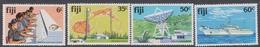 Fiji SG 615-618 1981 Telecommunications, Mint Never Hinged - Fiji (1970-...)