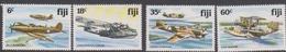 Fiji SG 624-627 1981 World WW II Aircrafts, Mint Never Hinged - Fiji (1970-...)