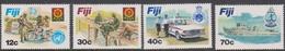 Fiji SG 632-635 1982 Disciplined Forces, Mint Never Hinged - Fiji (1970-...)