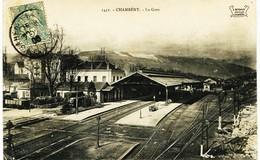 8918 -  Savoie - CHAMBERY : INTERIEUR  DE  LA  GARE  Circulée En 1906 - Chambery