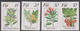 Fiji SG 680-683  1983 Flowers 2nd Series, Mint Never Hinged - Fiji (1970-...)