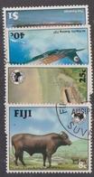 Fiji SG 684-687 1984 Ausipex Stamp Expo, Used - Fiji (1970-...)