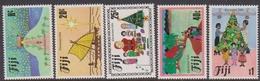 Fiji SG 688-692 1984 Christmas, Mint Never Hinged - Fiji (1970-...)