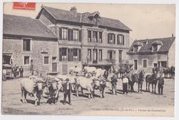 MOISSY-CRAMAYEL (77 Seine-et-Marne) - Ferme De Chanteloup - Attelage De Boeufs - Boyer Editeur - Autres Communes
