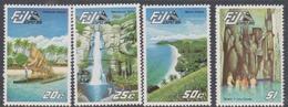 Fiji SG 697-700 1985 Expo'85, Mint Never Hinged - Fiji (1970-...)