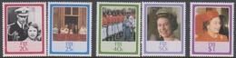 Fiji SG 714-718 1986 60th Birthday Queen Elizabeth II, Mint Never Hinged - Fiji (1970-...)