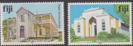 Fiji SG 720, 724 1986 Architecture Reprints Dated 1986, Mint Never Hinged - Fiji (1970-...)