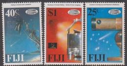 Fiji SG 738-740 1986 Halley's Comet, Mint Never Hinged - Fiji (1970-...)