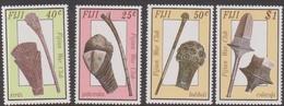 Fiji SG 747-750 1986 War Clubs, Mint Never Hinged - Fiji (1970-...)