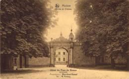 Modave  Entrée  Du Château. Hôtel Du Pont De Bonne.  Prop. : Marchot-Simal. - Modave