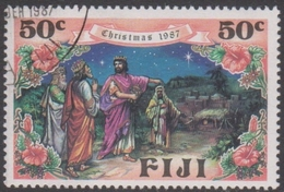 Fiji SG 766-769 1987 Christmas, 50c The 3 Kings, Used - Fiji (1970-...)