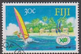 Fiji SG 770 1988 World Expo 88 Fair, Used - Fiji (1970-...)