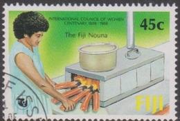 Fiji SG 771 1988 International Council Of Women, Used - Fiji (1970-...)