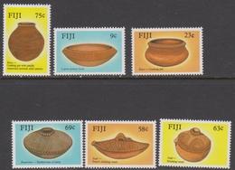 Fiji SG 772-777 1988 Ancient Pottery, Mint Never Hinged - Fiji (1970-...)