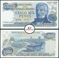 Argentina | 5.000 Pesos | 1983 | P.305b.2 | UNC - Argentine