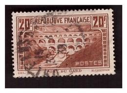 Pont Du GARD  N° 262 Obl. - Frankreich