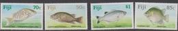 Fiji SG 806-809 1989 Freshwater Fishes, Mint Never Hinged - Fiji (1970-...)